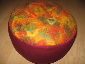 Kissen in Herbstfarben